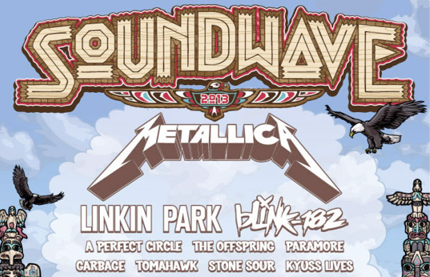 Soundwave Festival 2013– Sydney Olympic Park (Part 1)