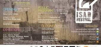 ISAD Festival : The Exhibition of Archive and Documentation of Street Art
