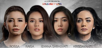 Presenting the Colorful Sounds of Love by Four Indonesian Divas