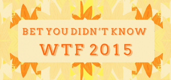 Bet You Didn't Know: We The Fest 2015