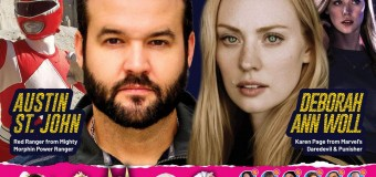 Deborah Ann and Austin St. John Are Confirmed To Hype-up Indonesia Comic Con 2019
